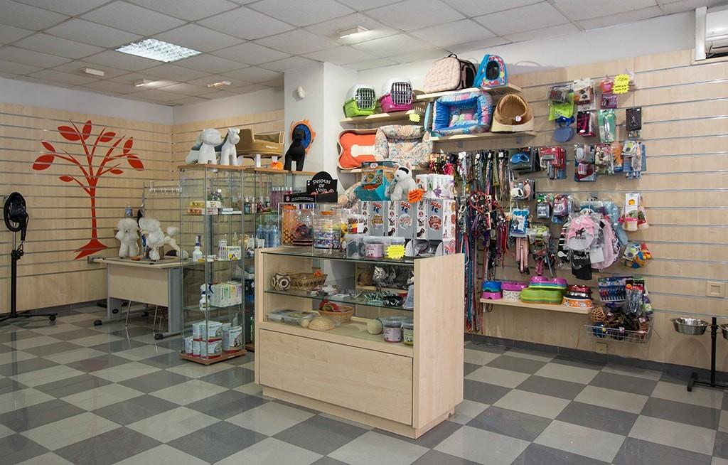 Boutique de productos para perros