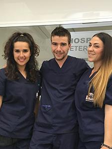 Rocío Herrera, Javier Narbona, Carmen Romero